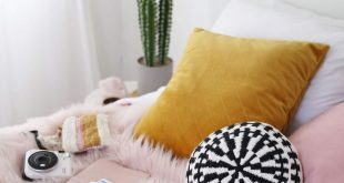 Round Woven Accent Pillow DIY