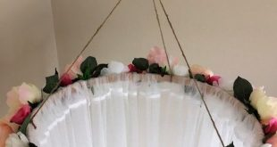 Custom Flower Canopy, Bed Canopy, Floral Canopy, Reading Canopy, Girl nursery, Canopy, Shabby Chic, Flower Bed Canopy