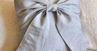 Gris arco almohada decorativo tiro arco 14 x 14 almohada