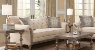 Lark Manor Trivette Upholstery Vox 3 Piece Coffee Table Set
