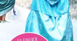 Umhang im Elsa-Stil: So einfach nähst du ihn selbst!