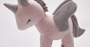 Adorable Unicorn Sleeping Doll Plush Toy Pillow for Playroom