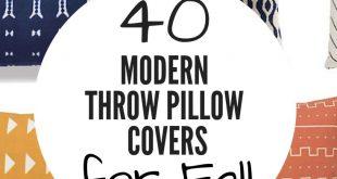 Cheap Modern Throw Pillow Covers for Fall