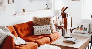 Einrichtungsidee - Opulent Orange | Orange hat einen tropischen Ton. Urlaub mitbringen ...