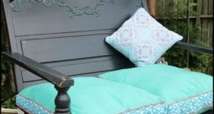 How To Build A Porch Swing From A Recycled Headboard theownerbuilderne... This i...