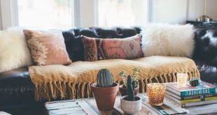 Living room ideas - crate for coffee table