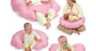 Nursing Pillow U Shaped Cuddle Baby Boppy Seat Tummy Infant Cushion Safety Pink