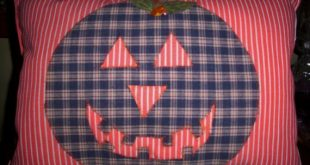 Pumpkin Pillow, Halloween, Fall Decor, Autumn Decor, Handmade, Country, Decorative Pillow, Orange, Home Decor, Home and Living, Unique Gift