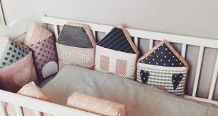 Und noch ein schönes, gemütliches Bild vom Bett mit {Häuschen - Nestchen} Im ...