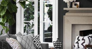 Wand schwarz streichen: Einrichtungsideen und Tipps für die stylische Wandfarbe