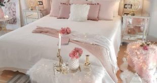 40 Pretty&Cozy Modern Bedroom Decoration Ideas for Girls - Page 4 of 8 - Vivelav...