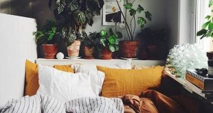 42 Cozy and Warm Interior Decor with Bohemian Style - #Bohemian #cozy #Decor #In...