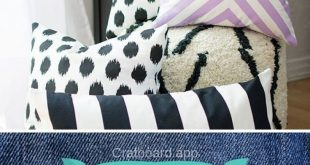 53 Easy DIY No Sew Pillows You Can Make in Minutes