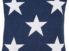 Admiral White/Denim Indoor/Outdoor Decorative Pillow | Fresh American