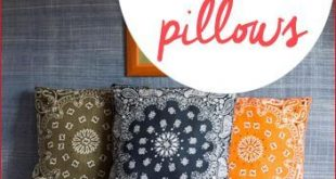 Christmas Table Games 2019 7 No-Sew Pillows. Fun projects that will spice up y...