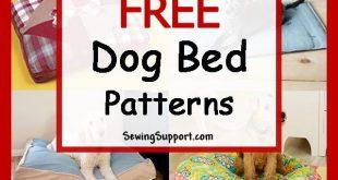 Dog Bed Diy: 25+ Free Dog Bed Patterns