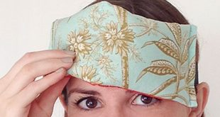 Easy DIY Projects for Teens to Make - Quick Sewing Tutorial for a DIY Eye Pillow...