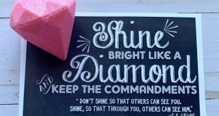 INSTANT DOWNLOAD Young Womens Keep My Commandments Shine Bright Tags Mutual 2019 LDS Birthday New Be