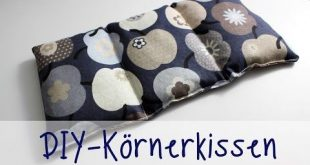 Julia's tillishop DIY's: Körnerkissen (in NUR 30 Minuten) - YouTube