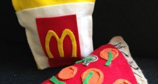 No Sew Fast Food Pillows! | Library Arts 2019 No Sew Fast Food Pillows! | Libr ...