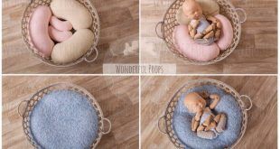 PDF Pattern - for DIY Posing Beans ( Cushion / Pillow / Moon Posing Prop) for Newborn Photography with Illustrated Sewing Instructions