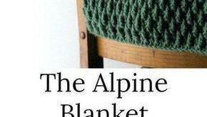 Wie man das Alpine Blanket Stitch Pattern häkelt! - #Alpine #Blanket #Das #häk...
